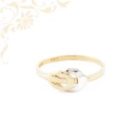 Különleges, nagyon dekoratív női arany gyűrű