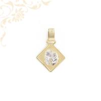 Vízöntő horoszkópos arany medál