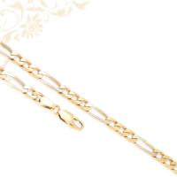 Figaro fazonú férfi arany nyaklánc