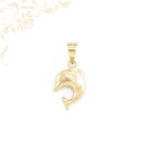 Delfin arany medál 3 D