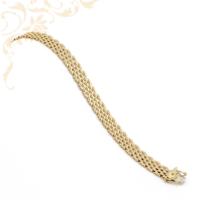 Rendkívül mutatós, női arany karkötő