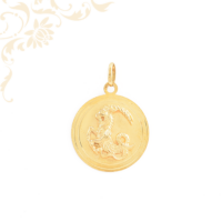 Bak horoszkópos arany medál