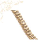 Női arany gyémánt karkötő