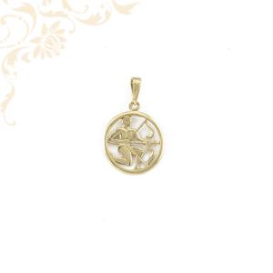 Nyilas horoszkópos arany medál