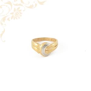 Női gyémántköves arany gyűrű