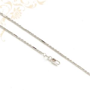 Fehéraranyból készült női arany nyaklánc