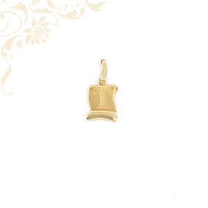 Arany T betűs medál