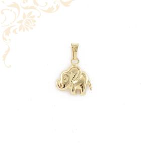 Üreges arany elefánt medál