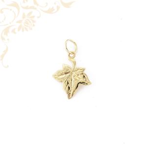 Juharfalevél arany medál