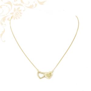 Arany nyaklánc szívecskés medállal