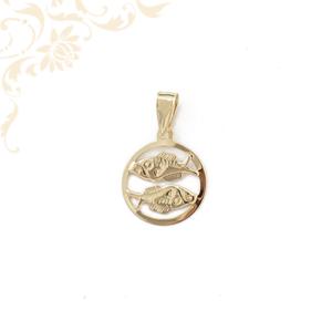 Arany horoszkópos medál - HALAK