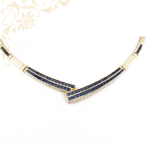 Női arany nyaklánc, arany nyakék
