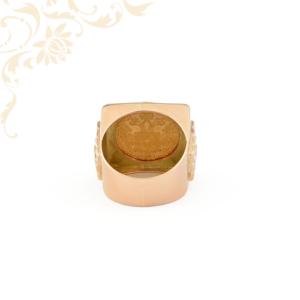 Érmés pecsétgyűrű
