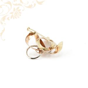 Arany kitűző, arany bross