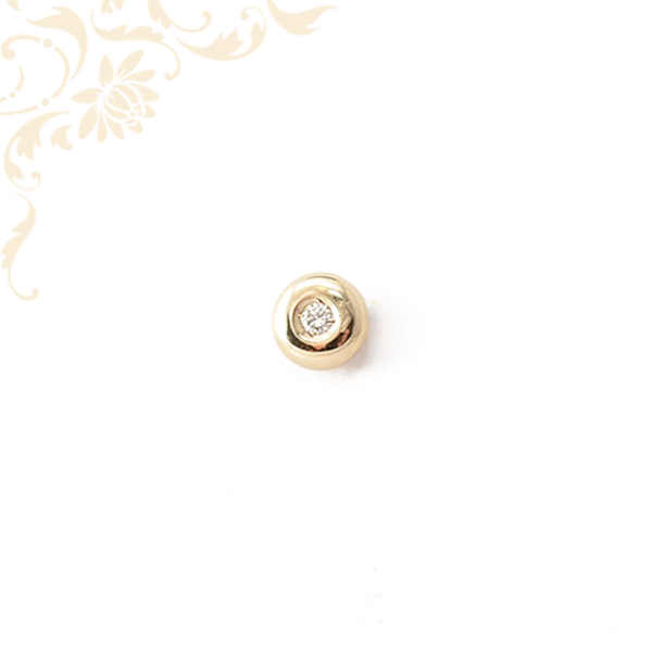 Női arany gyémánt medál