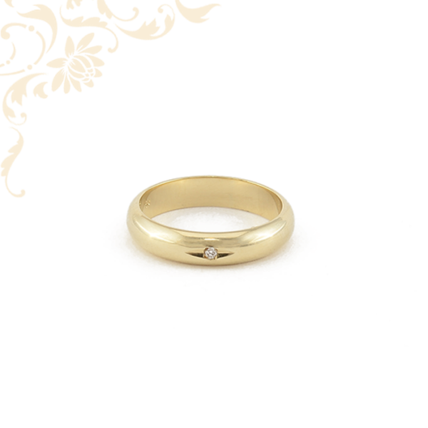 Női arany gyémánt karikagyűrű
