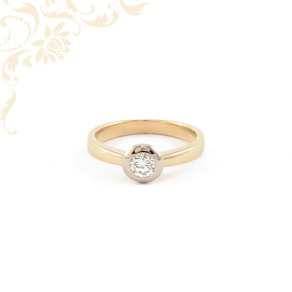 Fehérarany női gyémánt gyűrű