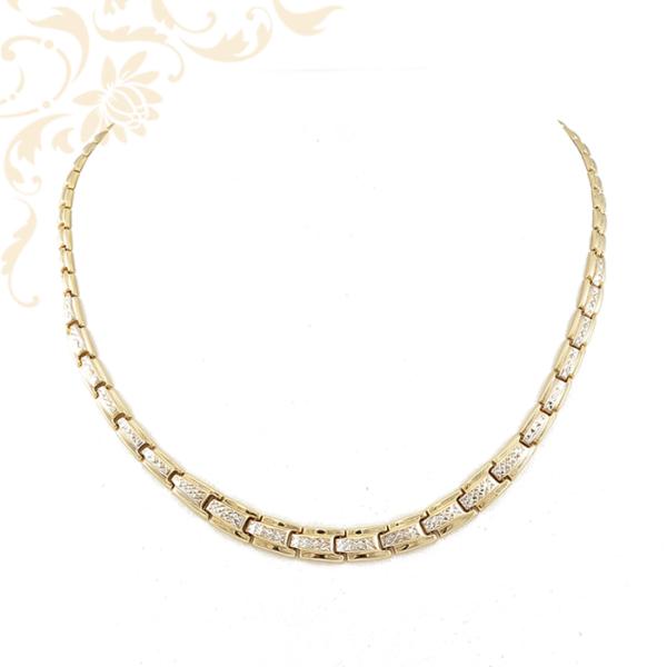 Üreges női arany nyakék