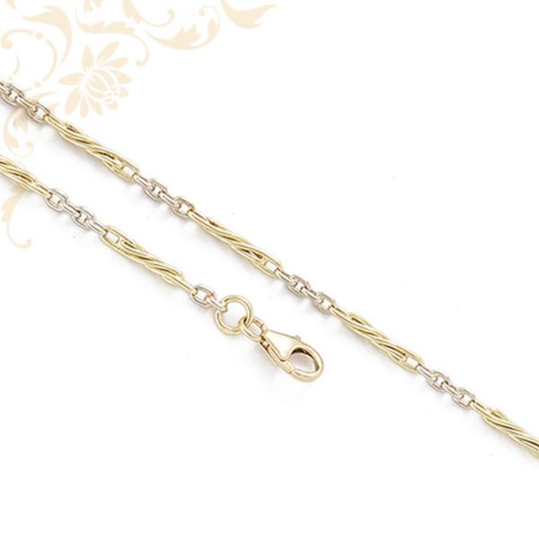 Kétszínű aranyból készül arany nyaklánc