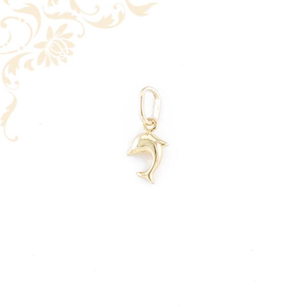Üreges arany delfin medál
