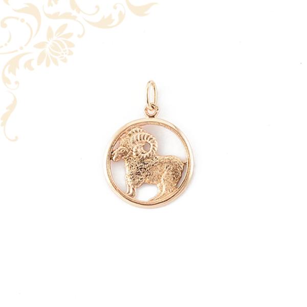 Arany kos horoszkópos medál