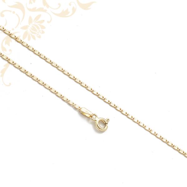 S-pancer fazonú női arany nyaklánc