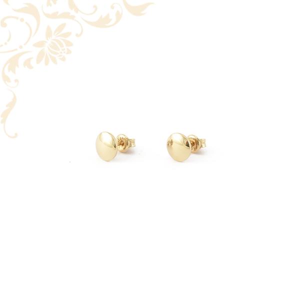 Kör alakú arany fülbevaló, stekkeres záródással