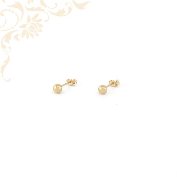 Gömb alakú arany fülbevaló