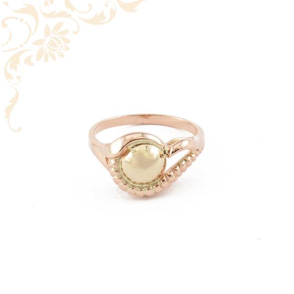 Klasszikus fazonú női arany gyűrű