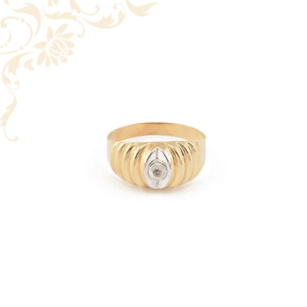 Kisméretű női arany gyűrű