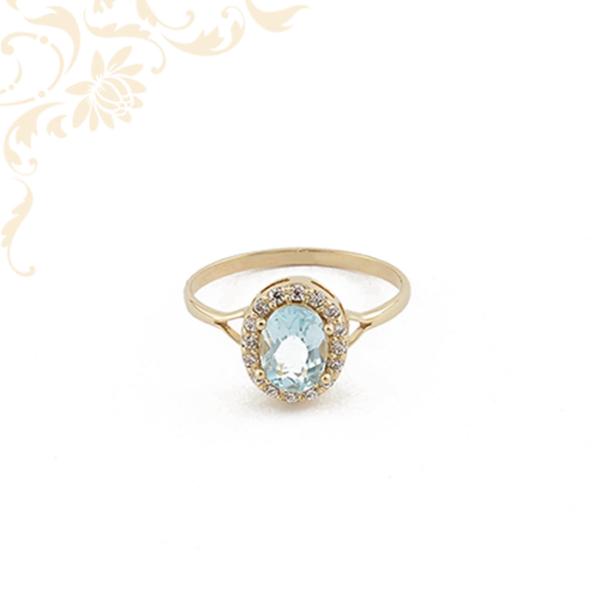 Női köves arany gyűrű