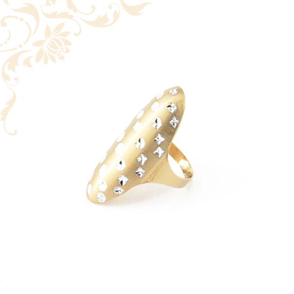 agy fejrészű női arany gyűrű