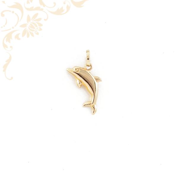 Delfin arany medál 3D.