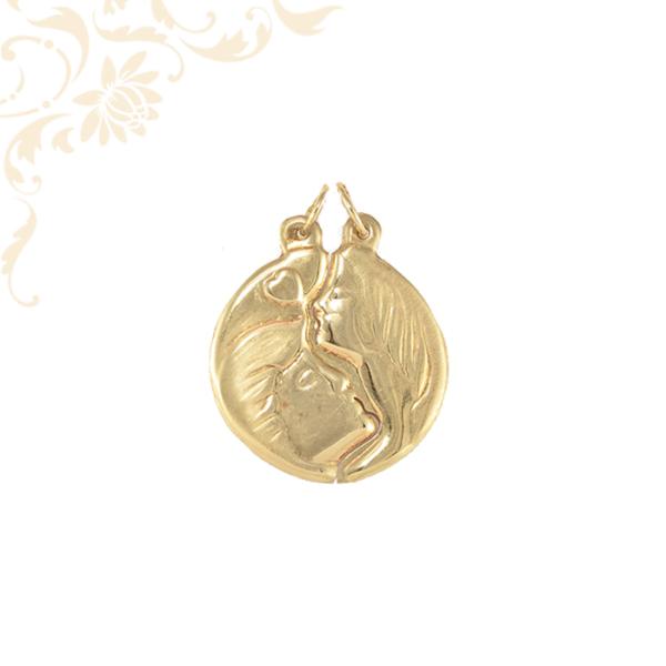 Kettétörthető arany medál