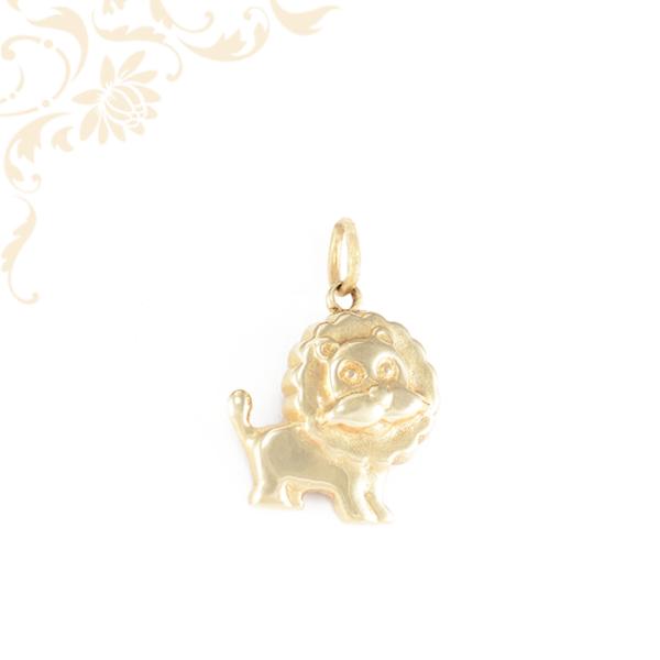 Oroszlán gyermek arany medál