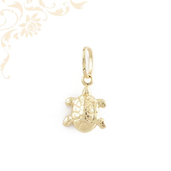 Teknősbéka gyermek arany medál