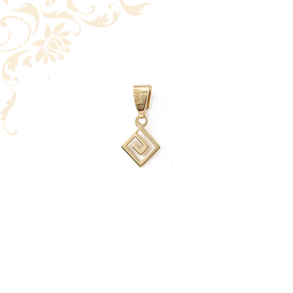 Görög mintás arany medál