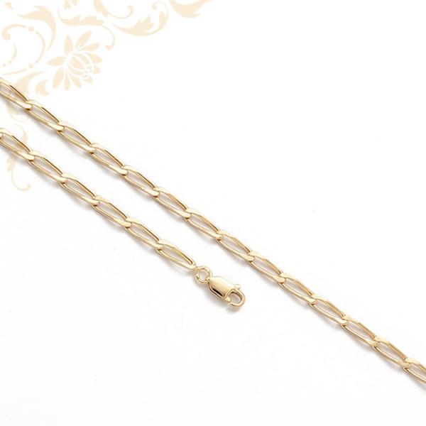 Hosszú szemes arany nyaklánc