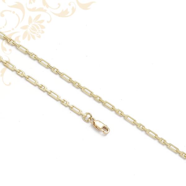 Hosszanti szemes arany nyaklánc