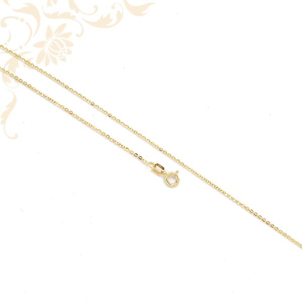 Kis súlyú, anker fazonú női arany nyaklánc.