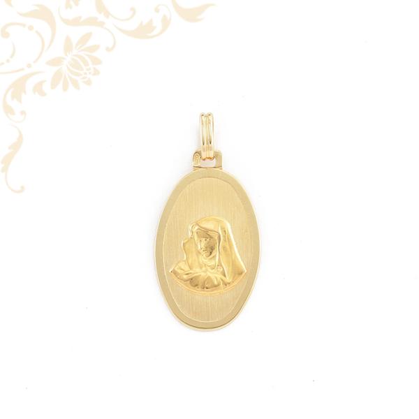 Szűz Mária arany medál