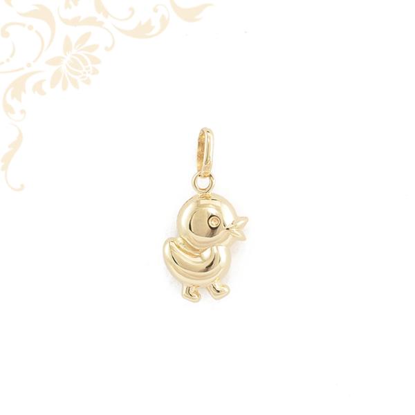 Kiskacsa arany medál 3D