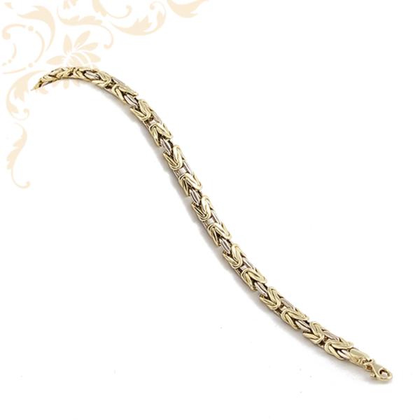 Királylánc arany karkötő