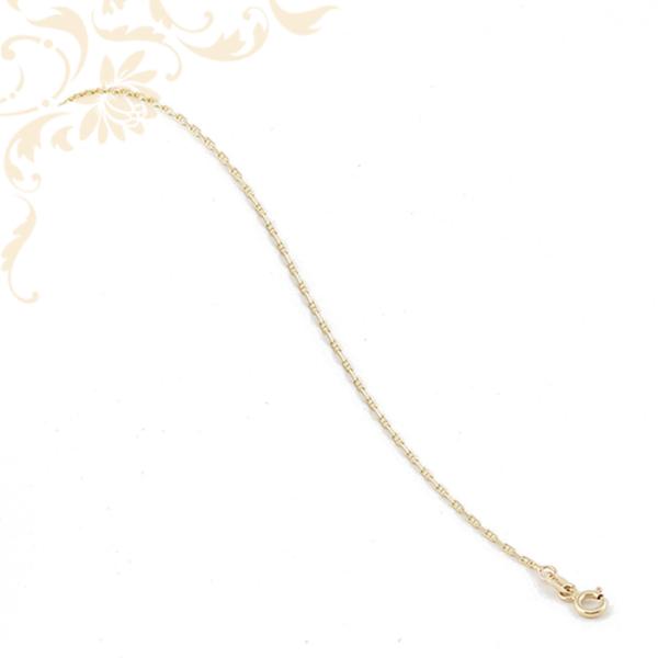 Pálcás pancer fazonú női arany nyaklánc