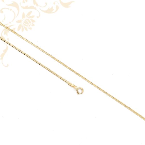 Pálcás pancer fazonú arany nyaklánc