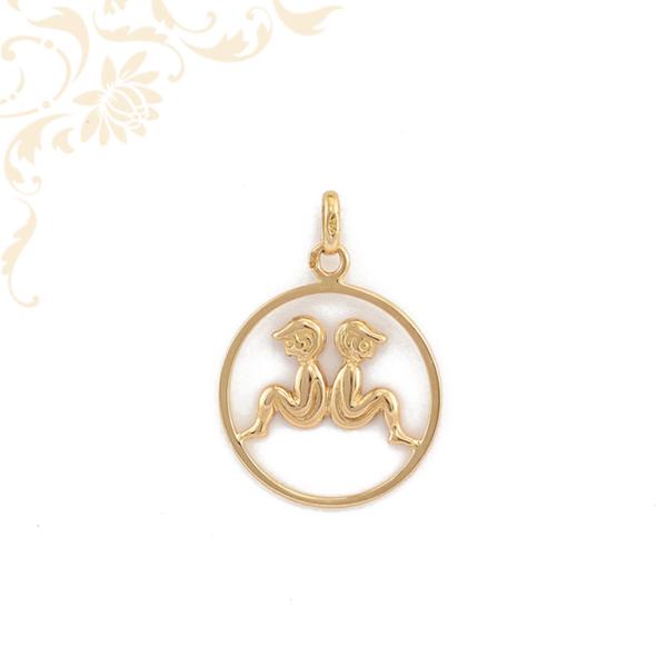 Iker horoszkópos arany medál