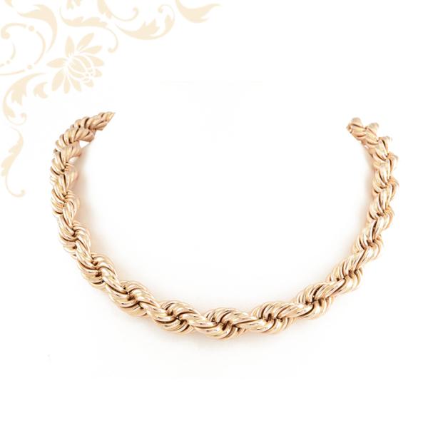 Női arany Walles fazonú nyaklánc
